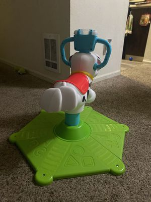 Fisher-Price Bounce and Spin Interactive Puppy with Lights and Sounds for Sale in Kent, WA