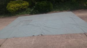 Large Boys Scout Of America Green Canvas Tarp 15'6 by 12' for Sale in Washington, PA