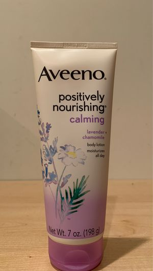 Aveeno Positively Nourishing Calming lotion 7 oz for Sale in Fort Hunt, VA