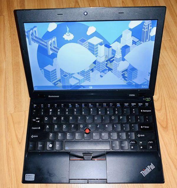 "Lenovo Thinkpad - ChromeBook - x120e - 11.6"" Screen - Mini Laptop - 4GB Ram - 80GB - Black"