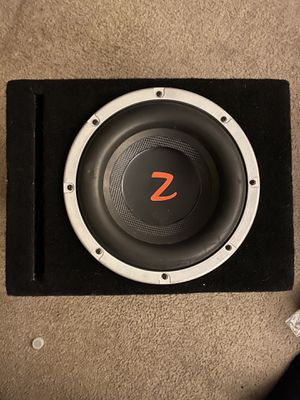 Z edition subwoofer for Sale in March Air Reserve Base, CA