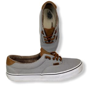 Vans Ultracush Men's Skate Sneaker Gray Brown Lace-Up Low-Top Shoe 721356 Size 10.5 for Sale in Longwood, FL