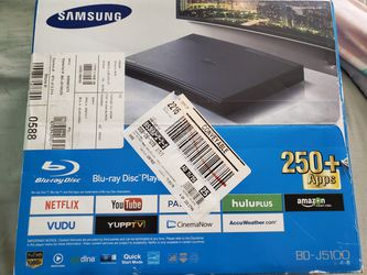 Samsung Blu-ray DVD player for Sale in El Paso,  TX