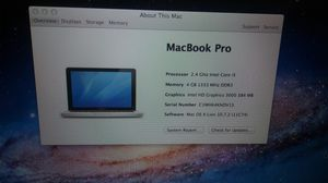 Macbook Pro i5 for Sale in Westchester, CA