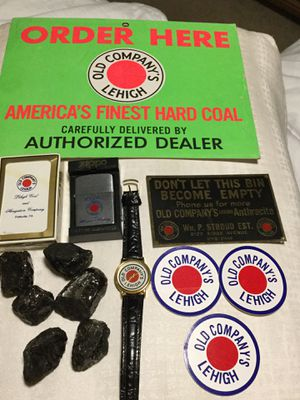 13 pc.Coal memorabilia. SEE PHOTOS & description . Make a reasonable offer. for Sale in Delray Beach, FL