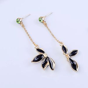 Black Green and Gold Floral Earrings for Sale in Woodbridge, VA