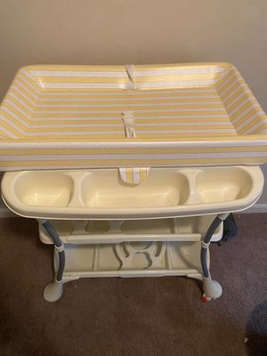 Changing table with bathtub for Sale in Columbia, SC