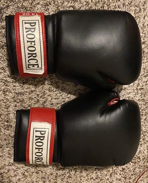 Pro force boxing gloves for Sale in Raleigh, NC
