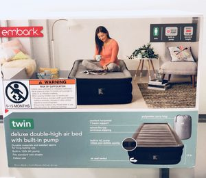 Air mattress/ Bed / Twin bed/ Twin mattress for Sale in San Francisco, CA