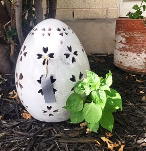New Pottery Barn Decorative Easter Egg Lawn & Garden Ornament for Sale in Austin, TX