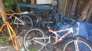 Lots of bikes BMX, MB and Cruiser for Sale in Miami, FL