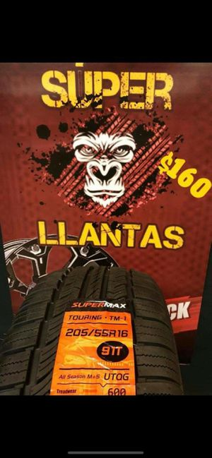 205 55 16 BRAND new set OF tires for Sale in Phoenix, AZ