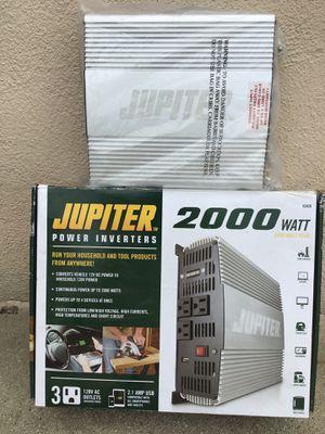 Jupiter power inverter 2000 Watt for Sale in Los Angeles, CA