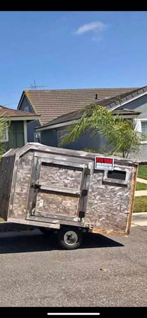Utilities trailer/ home made tear drop for Sale in Temecula, CA
