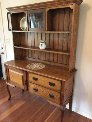 Antique Queen Anne Hutch - Uniquely Narrow for Sale in Sun City, TX