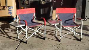 Kids chairs with fold out table great condition for Sale in Colorado Springs, CO