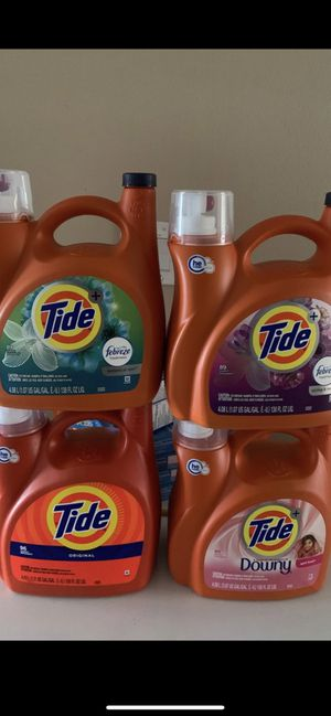Tide laundry detergent for Sale in Phoenix, AZ