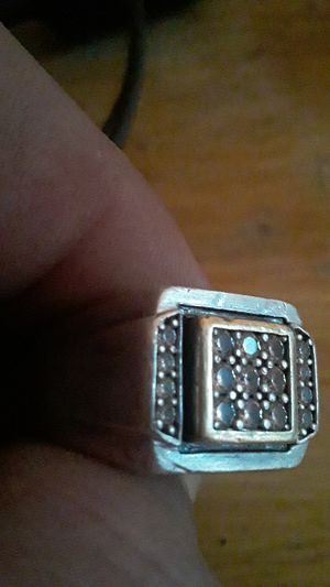 Gold and silver ring for Sale in Summerfield, NC