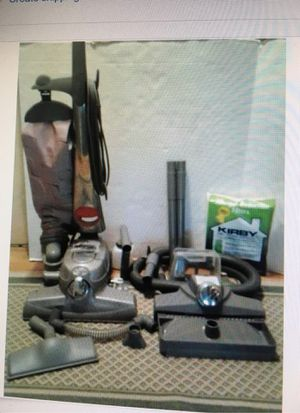 Kirby Sentria Vacuum & Carpet Shampoo System with Accessories for Sale in Randolph, MA