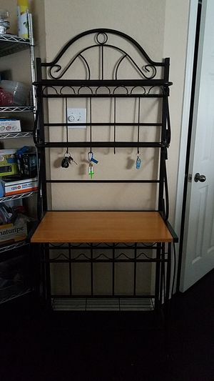 Bakers rack for Sale in San Antonio, TX