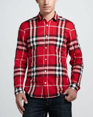 Authentic Burberry Men Shirt Size M for Sale in Miami, FL