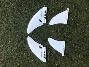 Surfboard fins quad set futures surf board split keel for Sale in Portland, OR