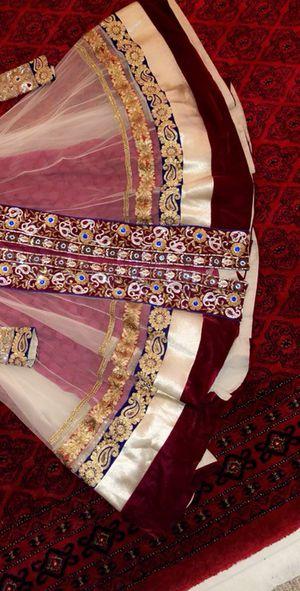 Long Wedding Gown, Pakistani/ Indian for Sale in Lorton, VA