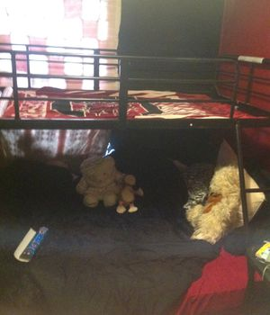 Twin over Full bunk bed for Sale in Inman, SC