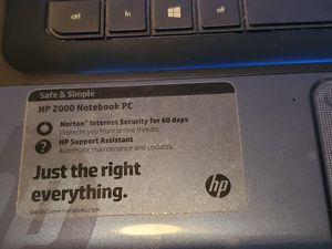 HP 2000 Note PC for Sale in Fort Worth, TX