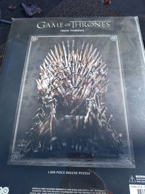 Games of thrones puzzle for Sale in Bellflower, CA