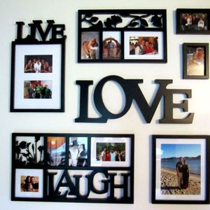 Live Live Laugh Picture Frame Set for Sale in New York, NY