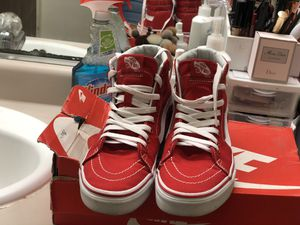 Vans - Red high tops for Sale in Watsonville, CA
