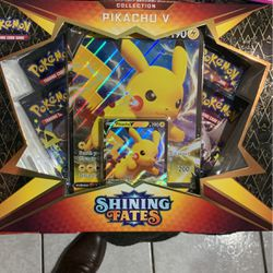Pokémon Shining Fates V Box Pikachu for Sale in Los Angeles,  CA