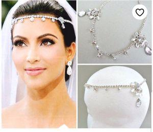 Bridal headchain/chain tiara/forehead chain for bride for Sale in Bloomington, IL