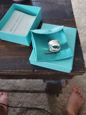 Classic Tif dd's any & Co silver ring for Sale in Sanatoga, PA