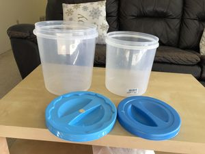 Last Day to go - Food storage containers - EACH 5 $ for Sale in Fremont, CA