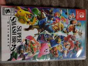 Super smash bros nintendo switch for Sale in Brookfield, MA