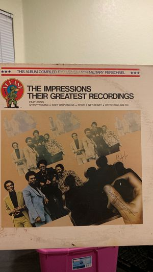 The Impressions-Their Greatest Recordings for Sale in Moreno Valley, CA