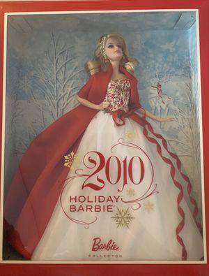 2010 Holiday Barbie for Sale in Port Charlotte, FL