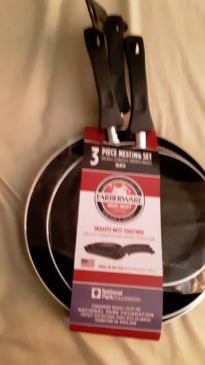 Fiberwear cooking pans for Sale in Hollywood, FL