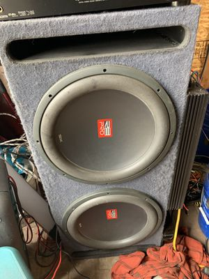 Re audio pro sx 15s for Sale in Palo Alto, CA