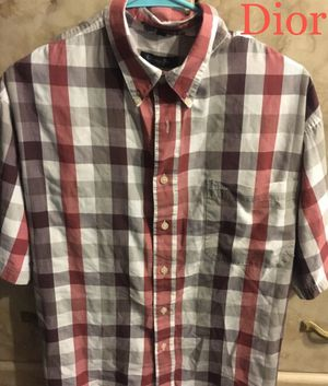 Christian Dior Button Down Shirt M for Sale in Henderson, NV