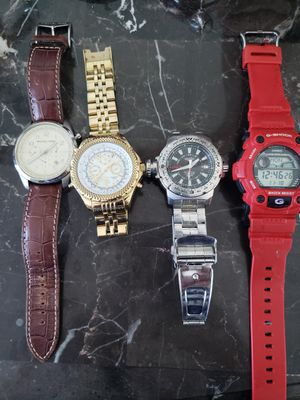 4 Relojes de hombre for Sale in Miami, FL