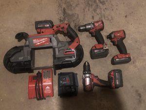 Milwaukee power tool set for Sale in Bethlehem, PA