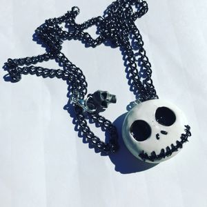 Handcrafted Jack Skellington necklace for Sale in Oxford, MA