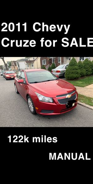 2011 Manual Chevy Cruze for Sale in Perth Amboy, NJ