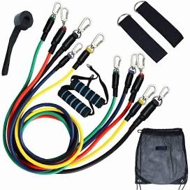 New Sealed U-powex 11 piece Resistance bands Full Set with door anchor and bag for Sale in Chino, CA