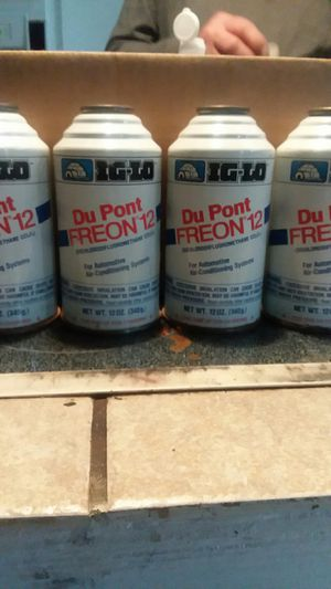R/12 Freon Du Pont (4cans) for Sale in Fort Worth, TX