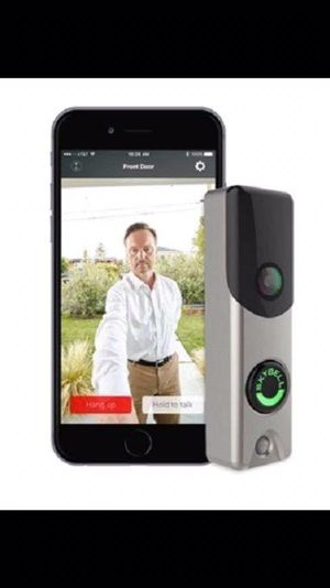 SkyBell Doorbell Camera Slim Line Wi-Fi 1080p {url removed}, (like Ring Doorbell) Silver for Sale in Morton, IL