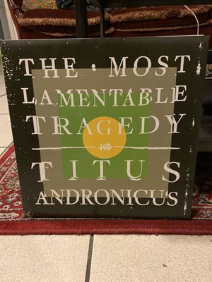 Titus Andronicus - The Most Lamentable Tragedy (vinyl) for Sale in Santa Ana, CA
